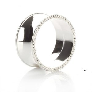 Wedding napkin rings metal holders for dinners parties hotel table decoration supplies diameter 4.5cm BWD6181