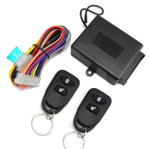 M602-8114 Remote Control Central Locking Kit For KIA Car Door Lock Keyless Entry System With Trunk Release Button Alarm & Security