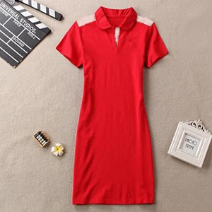 Women Summer Dress short Sleeve Casual Style Dresses Clothes
