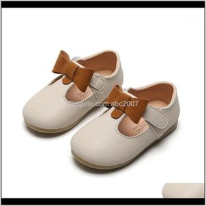 Flat Baby, & Maternity Children Comfortable Soft Leather Girls Flats Fashion Bow Princess Dance Moasins Kids Shoes 0191 Drop Delivery 2021 C