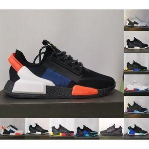 Dazzle Camo NMD R1 V2 Мужская беговая обувь Core Black White Blue Mexico City Oreo Og Aqua Thones Мужчины Женщины Япония Тренеров Спортивные кроссовки