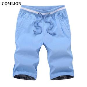 Brand Comlion Casual Shorts Men Summer Bottom Ginocchio Lunghezza Breve Tempo libero Fitness in cotone traspirante Alta qualità 6 Uomo