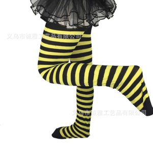 2021 Halloween Autumn Cosplay Striped CHildren's Stockings Fashion Striped Blood Drop Long One-piece Pantyhose Party Sports Grils Panty-hose G993GFJ