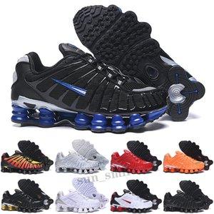 Shox TL R4 Outdoor Arrivée TL triple Noir Hommes Femmes Chaussures de course Femmes 301 Livrer Sunrise Lime Blast Shox Trappe Sports Sports Sports Sneakers