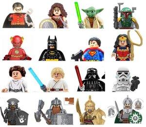 Mini Movie Hero Anime Figures blocks toy wholesale Full body size 4.5cm kid building toys gift