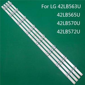 Beads Light LED TV Iluminación Repuesto de la pieza para LG 42LB563U 42LB565U 42LB570U 42LB572LA Barra de retroiluminación Línea de retroiluminación Ruler DRT3.0 42 A B