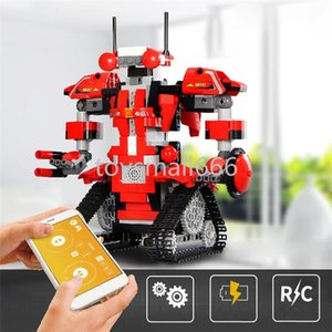 App Control Robot Compatible Boots 2021 Latest Creative Toolbox Set Programming Aimubot Kids Toys Building Blocks FY4537-FY4540