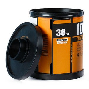 Tissue Boxes & Napkins Smoke Cylinder Rack Creative Magazine Shape Plastic Standing Box Magic Sticker Handing Toilet Paper Holder Storage To