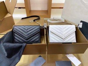 2021 moda marca high-end marca senhoras saco de envelope, diagonal de mão e ombro único