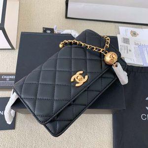 Women Designer Bags Handbag Totes Shoulder Cross Body TOP-Quality Classic Square Cover Sheepskin Chains Fortune bag 12*19cm ,3 colours luxury_bagshop888 01021