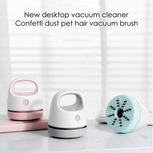 Vacuum Cleaner Desk Table Dust USB Rechargeable Desktop Strong Suction Pet Hair Removal Sweeper