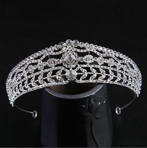 Bridal headdress 2021 golden diamond crown hairband fashion accessories 033018