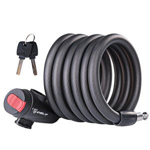 Bike Locks Lock 1.8m Anti Theft Bicycle Accessories Steel Wire Security Cable MTB Motorcycle Equipment Universl Road