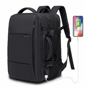 Backpack Anti-thief Fashion Male Multifunctional Waterproof 17.3 Inch Laptop Bag USB Charging Travel 2021