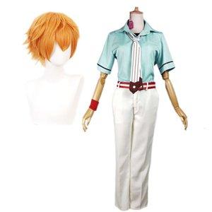 CosDaddy Minamoto Kou Cosplay Costume Toilet-bound Anime Full Set Hanako-ku Men Women Outfit Uniform Full Set
