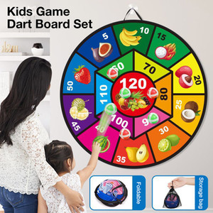 Darts Children's Sticky Ball Wall-mounted Outdoor indoor family toy Dart Board Dartboard baby child Sports Safe Game Toys flying disk