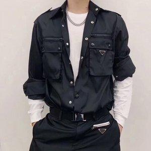Женская куртка осень зима классика мода черный крутой тонкий рубашка пара размером ML XL