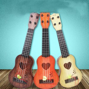 Mini 4 Strings Children Simulation Playable Ukulele Guitar Educational Music Instruments Toy Gifts for Beginners