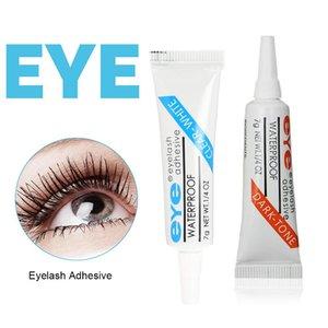 50PCS Wholesale Black  Clear False eyelash glue Adhesive Waterproof Strong Makeup Best Strip Eyelash Glue Stick Eye Makeup Tool Drop Ship