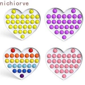 DHL Free Rainbow Plus Pops Fidget Sensory 장난감 Autism 특별 욕구 Antistress Game Stress refief Squishy Popit Fidget Toys