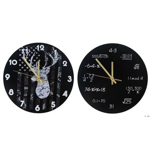 Industrial Modern Wall Clock Art American Personality Living Room Clocks Home Office School Vintage Decor HWD6220