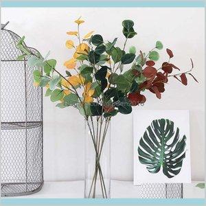 Fiori decorativi Ghirlande Festive Forniture per feste Giardino Casa Artificiale Francia Yogali Decorazione dei soldi Decorazioni per l'autunno per artificiale