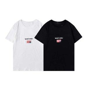 21SS 남성 여성 디자이너 Tshirts 패션 남자 S 캐주얼 티셔츠 남자 의류 스트리트 디자이너 반바지 소매 2021 의류 티셔츠