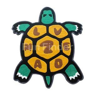 Spot Tide Brand Neww Nigo Rug Tortoise Joint Limited Carpet High-end Living Room Bedroom Wool Mat