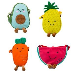 Детский кошелек дети арбуз редьки ананасовый грибной мешок сумка мода сладкие одно наплечные сумки девушки все матч межслойные сумки детские закуски конфеты кошелек