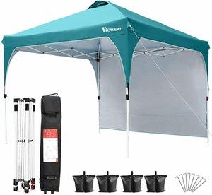 """10'X10 """"Коммерческая всплывающая палатка навес для палатки водонепроницаемая вечеринка свадьба патио беседка"""