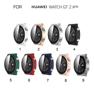 Tempered Glass +Watch Case for Huawei GT2 Pro Plating Case Frame Protector Screen Protector Protective Case for GT2 Pro