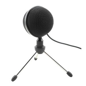 Metal USB Condenser Recording Microphone For Laptop MAC Or Windows YouTube, Live Broadcast Microphones