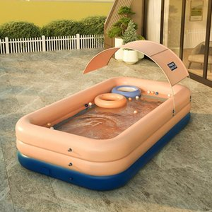 Pool & Accessories Wirel, Iatable Child For Children And Adults, Sun Cover, Pvc, Wirel