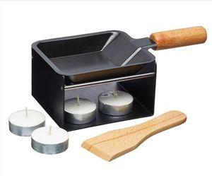 Mini Cheese barbecue Grill Portable table BBQ Bread Heater Non-stick Grill Plate Home Slow fire stove 217-3