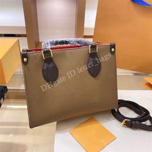 Luxurys Designers OnThego 2021 Mulheres Crossbody Sacola de Compras Bolsa Senhoras Tote Sacos de Embreagem Sacos de Moda Bolsas de Moda Bolsas Carteiras Mochilas Bolsa Carteira
