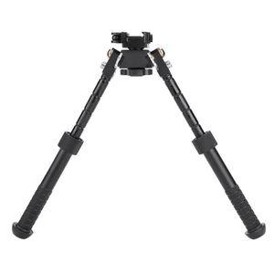 Quick Stach Toy Rifle BiPod Atlas V8 BT10-LW17 21,7 mm Mount con tessitore standard con la leva ADM 170-S-TAC-R per BiPod Tactical Hunting AR15