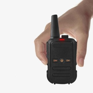 Walkie Talkie Handheld Portable Radio 5W High Power UHF Two Way Ham Communicator HF Charging Transceiver