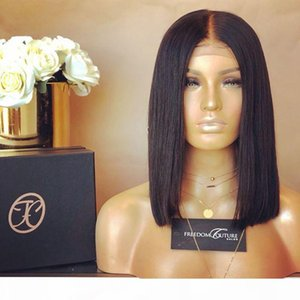 Glueless Wigs Bob Cut Wigs Human Hair Bob Full Lace Wig For Black Women Full Cuticle Short Bob Lace Wigs FreeShipping
