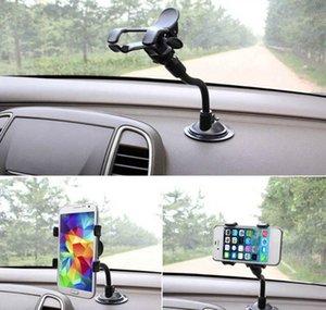 셀 마운트 홀더 유니버설 윈드 실드 마운트 브래킷 360도 휴대 전화 용 GPS 자동차 도구 Nonslip 단단한 흡입 컵 Suppor 2xubv