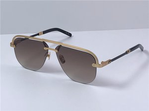 New fashion design man sunglasses H018 pilot frameless popular and simple style outdoor uv400 protective glasses top quality