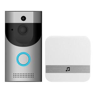 B30 WIFI Waterproof Video Smart Doorbell + B10 Receiver PIR Alarm Wireless Intercom IR Night Vision IP Camera