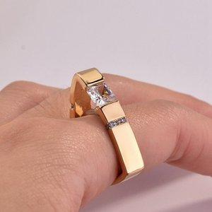 5pcs European and American Simple geometric triangle Inlaid rhinestone Rings Fashion personality women Rings size 6-10 G-79