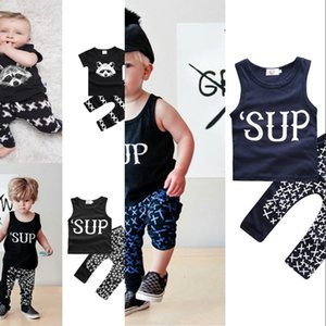 Kids Designer Clothes Girls Ins Clothing Sets Baby Summer Suits Boys Boutique T Shirt Pants Outfits Newborn Animal Print Tops Pants 314 U2