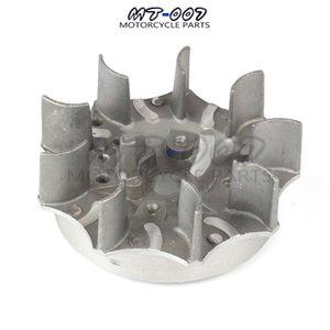 47cc 49cc Pull Starter Flywheel For Engine Pocket Bike Chinese Minimoto Mini Moto Kids Dirt Quad ATV Crosser Assembly