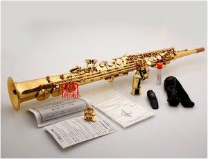 Yanagisawa S-901 Soprano Saxophone B flat playing professionally Top Musical Instruments professional with Case mouthpiece