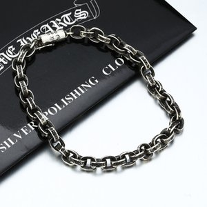 S925 Crowe Pure Sier Jewelry Heart O-shaped Bracelet Necklace Couple Gift