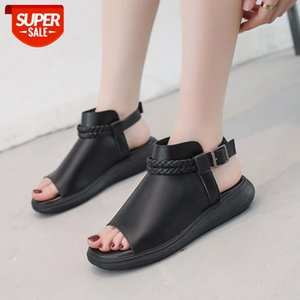 2020 New Women Sandals Outdoor Refreshing shoes Woman Leisure slippers Flat hot beach Trend Casual Snadals #y13x