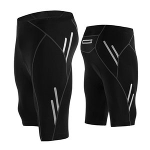 Professional Reflective Night Bicycle Shorts Men Outdoor Wear Bike Cycling Gel Padded Riding Bib Shorts Cycling Bib Shorts