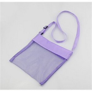 Kids Sand Away Mesh Shell Children Summer Beach Tote Bag Collection Carrying Toys Storage 1F05 IM3D