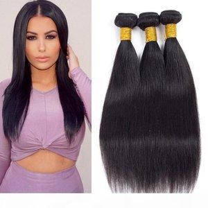 Top Best Selected Hair Vendors Mink Brazilian Straight Human Hair Weave Bundles Long Mix Length 8-26 inch Peruvian Virgin Hair Bundle Deals